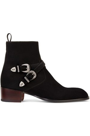 Giuseppe Zanotti Dual-buckle ankle boots