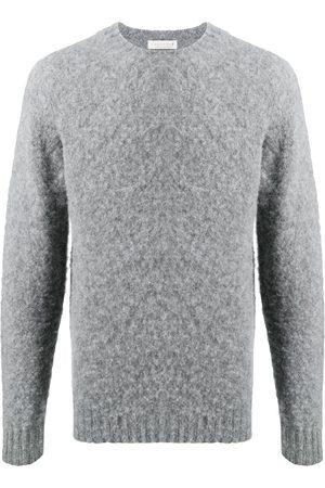 MACKINTOSH Men Sweatshirts - Hutchins crew-neck jumper - Grey