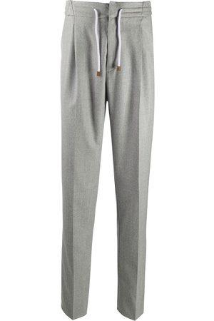 Brunello Cucinelli Drawstring waist trousers - Grey