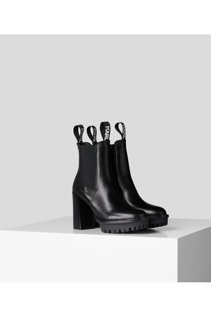 Karl Lagerfeld Women Lace-up Boots - Voyage IV Lace-Up Pull On Boots