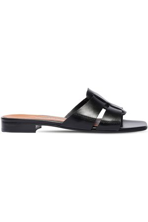 EMME PARSONS 10mm Leo Leather Slide Sandals