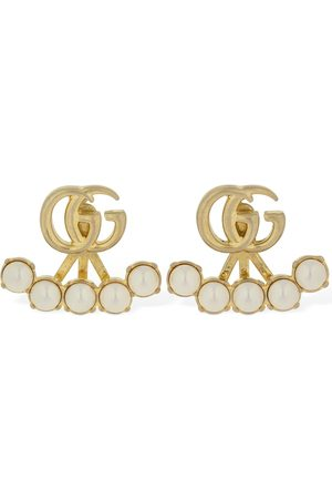 Gucci Gg Marmont Imitation Pearl Earrings