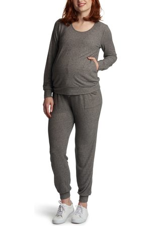 Everly Grey Women's Whitney 2-Piece Maternity/nursing Lounge Set