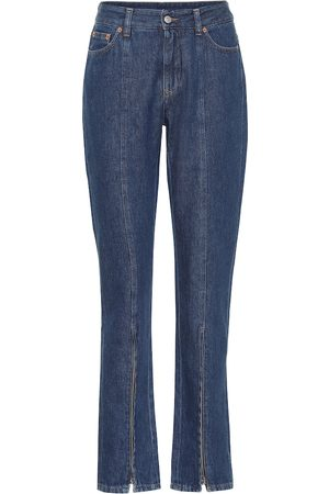 MM6 MAISON MARGIELA High-rise slim jeans