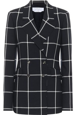 GABRIELA HEARST Angela checked wool blazer
