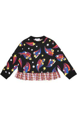 Stella McCartney Printed cotton fleece sweatshirt