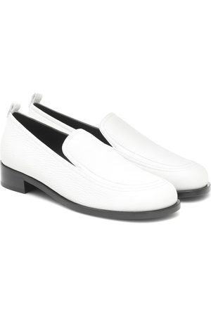 The Row Leather loafers