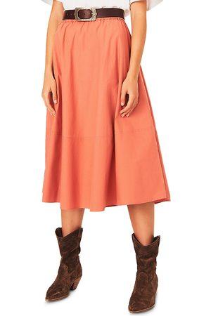Ba & sh Piel Midi Skirt
