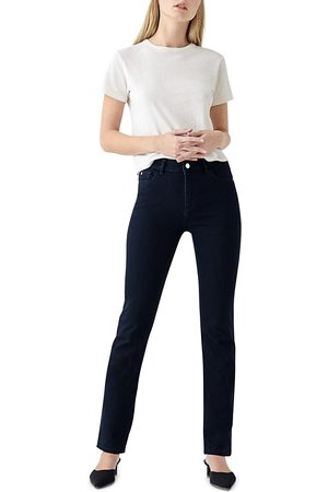 Dl 1961 Coco Curvy Straight Leg Jeans in Flatiron