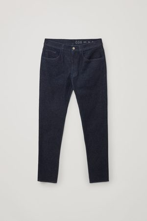 COS RECYCLED COTTON SLIM-LEG JEANS