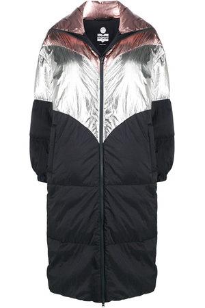 Isabel Marant Women Parkas - Colour block padded coat