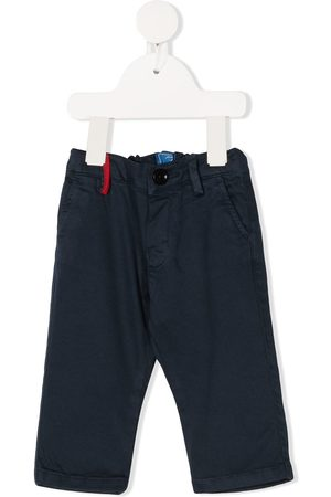 FAY KIDS Straight-leg chino trousers