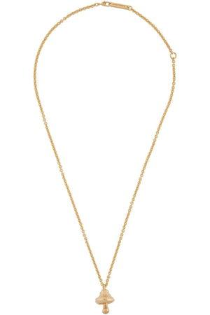 AMBUSH Mushroom-charm chain necklace