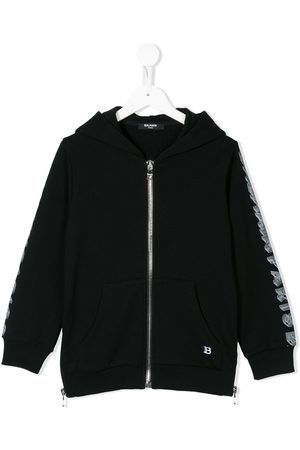 Balmain Boys Hoodies - Logo hoodie