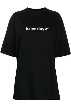 Balenciaga Oversized logo-print T-shirt