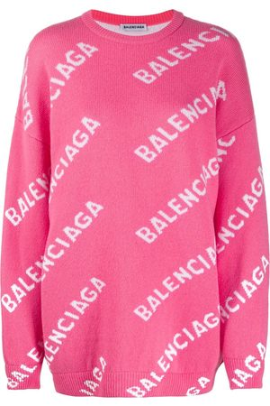 Balenciaga All-over logo-print jumper