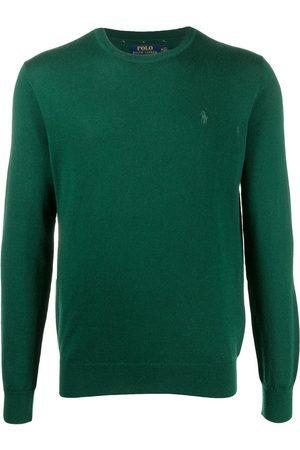 Polo Ralph Lauren Embroidered-logo wool jumper