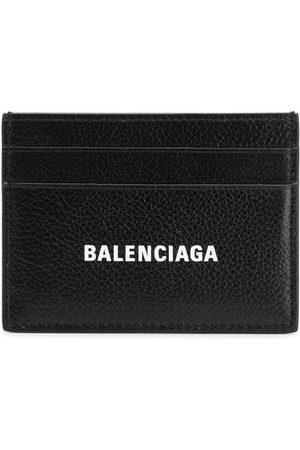 Balenciaga Men Wallets - Logo print cardholder - 101 - :1090