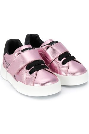 Dolce & Gabbana Girls Sneakers - Portofino low-top sneakers