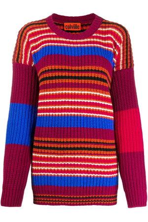 Colville Fair isle striped jumper