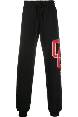 GCDS Logo drawstring tracksuit bottoms
