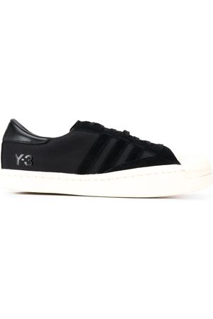 Y-3 Low top contrast toe sneakers