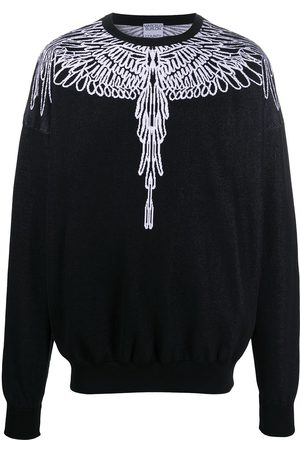 MARCELO BURLON Pictorial Wings crew neck sweatshirt