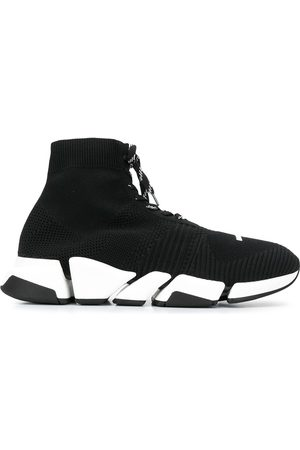 Balenciaga Men Sneakers - Lace-up sock trainers