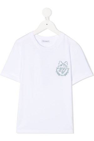 Dolce & Gabbana Logo-embroidered T-shirt