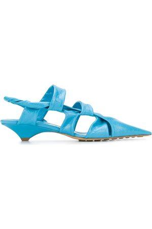 Bottega Veneta Pointed leather sandals