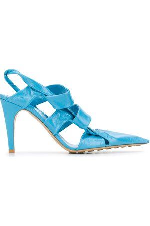 Bottega Veneta High-heeled pointed toe sandals