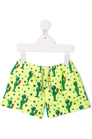 MC2 SAINT BARTH Cartoon print swimshorts