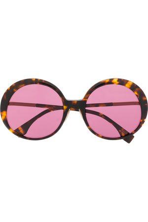 Fendi Women Round - Oversize round frame sunglasses