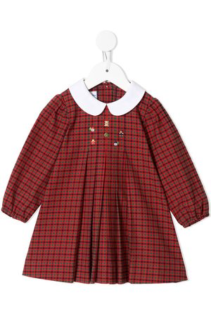 Familiar Check print dress