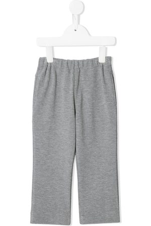 Familiar Embroidered rocket sweatpants - Grey