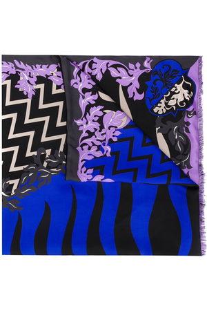 Emilio Pucci Women Scarves - X Koché Lupa-print scarf