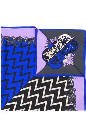 Emilio Pucci X Koché printed silk scarf