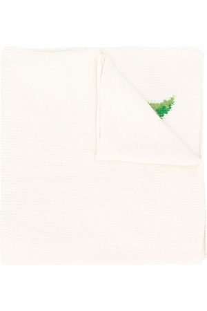 PRINGLE OF SCOTLAND Lemon knit scarf - Neutrals