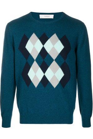 PRINGLE OF SCOTLAND Argyle-intarsia sweater