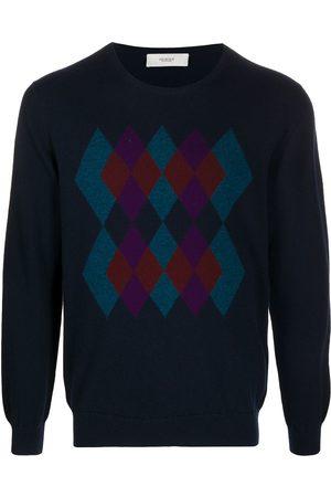 PRINGLE OF SCOTLAND Men Sweaters - Argyle-intarsia sweater