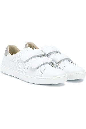 Gucci TEEN GG touch strap sneakers
