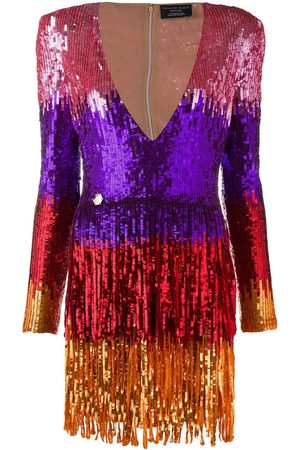 Philipp Plein Women Party Dresses - Colour-block mini dress