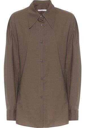 Low Classic Oversized wool shirt