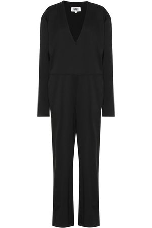 MM6 MAISON MARGIELA Wool-blend jumpsuit