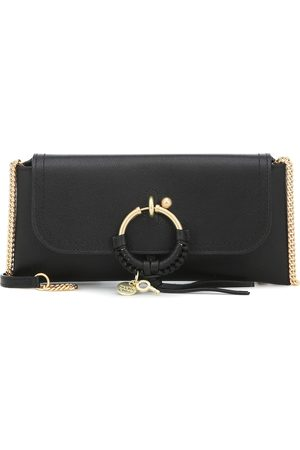 See by Chloé Joan leather clutch