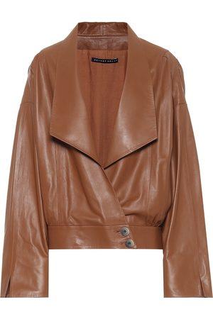Zeynep Arcay Leather jacket