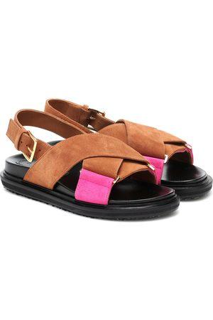 Marni Fussbett suede sandals