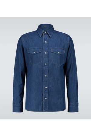 Tom Ford Western denim shirt