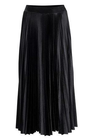 VALENTINO Jersey velvet skirt