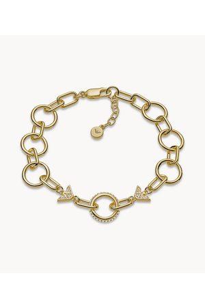 Brands Emporio Armani Women's -Tone Sterling Silver Bracelet